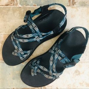 Chaco Shoes - Womans Chaco Sandals Double Strappy with Toe Strap